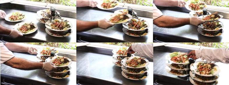 Support thiercelin accueil porte assiette ustensile de - Assiette de cuisine ...
